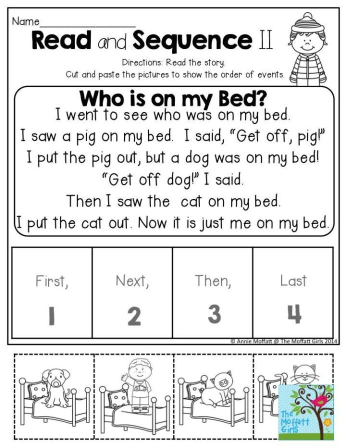 Sequence Pictures Worksheets