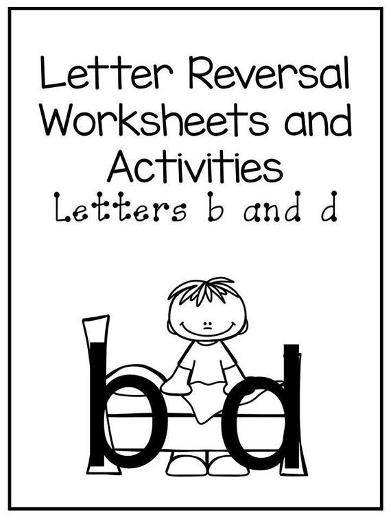 B and D Reversals Worksheets
